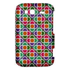 Modernist Floral Tiles HTC Wildfire S A510e Hardshell Case