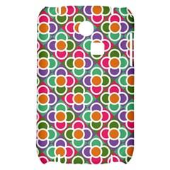 Modernist Floral Tiles Samsung S3350 Hardshell Case