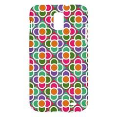 Modernist Floral Tiles Samsung Galaxy S II Skyrocket Hardshell Case