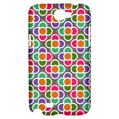 Modernist Floral Tiles Samsung Galaxy Note 2 Hardshell Case