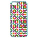 Modernist Floral Tiles Apple Seamless iPhone 5 Case (Color) Front