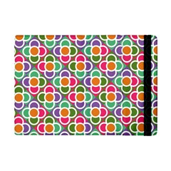 Modernist Floral Tiles Apple Ipad Mini Flip Case