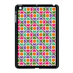 Modernist Floral Tiles Apple Ipad Mini Case (black)