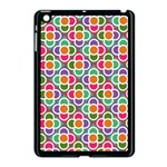 Modernist Floral Tiles Apple iPad Mini Case (Black) Front