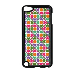 Modernist Floral Tiles Apple Ipod Touch 5 Case (black)