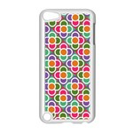 Modernist Floral Tiles Apple iPod Touch 5 Case (White) Front