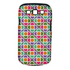 Modernist Floral Tiles Samsung Galaxy S III Classic Hardshell Case (PC+Silicone)