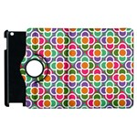 Modernist Floral Tiles Apple iPad 3/4 Flip 360 Case Front