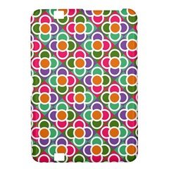 Modernist Floral Tiles Kindle Fire Hd 8 9