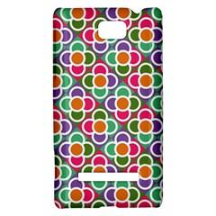 Modernist Floral Tiles HTC 8S Hardshell Case
