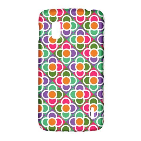 Modernist Floral Tiles LG Nexus 4