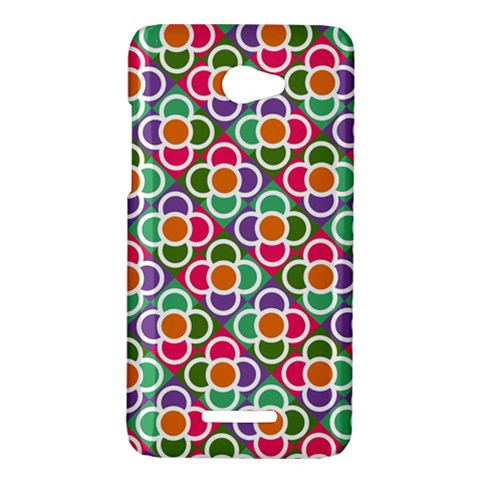Modernist Floral Tiles HTC Butterfly X920E Hardshell Case