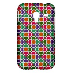 Modernist Floral Tiles Samsung Galaxy Ace Plus S7500 Hardshell Case