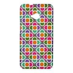 Modernist Floral Tiles HTC One M7 Hardshell Case