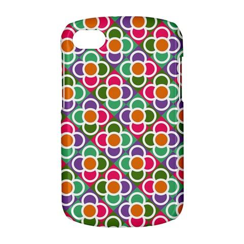 Modernist Floral Tiles BlackBerry Q10
