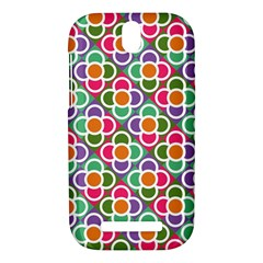 Modernist Floral Tiles HTC One SV Hardshell Case