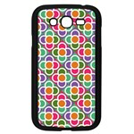 Modernist Floral Tiles Samsung Galaxy Grand DUOS I9082 Case (Black) Front