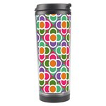 Modernist Floral Tiles Travel Tumbler Left