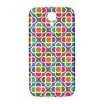 Modernist Floral Tiles Samsung Galaxy S4 I9500/I9505  Hardshell Back Case Front