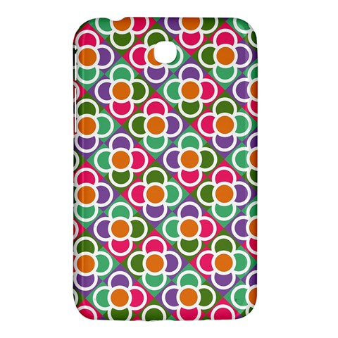 Modernist Floral Tiles Samsung Galaxy Tab 3 (7 ) P3200 Hardshell Case
