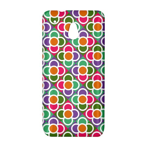 Modernist Floral Tiles HTC One Mini (601e) M4 Hardshell Case