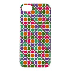 Modernist Floral Tiles Apple iPhone 5S/ SE Hardshell Case
