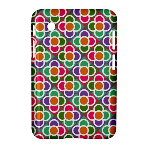 Modernist Floral Tiles Samsung Galaxy Tab 2 (7 ) P3100 Hardshell Case