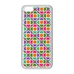 Modernist Floral Tiles Apple iPhone 5C Seamless Case (White) Front