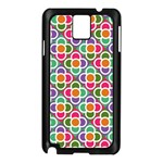 Modernist Floral Tiles Samsung Galaxy Note 3 N9005 Case (Black) Front