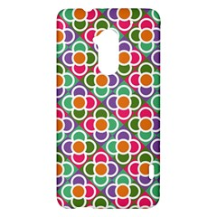 Modernist Floral Tiles HTC One Max (T6) Hardshell Case