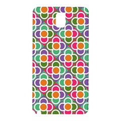 Modernist Floral Tiles Samsung Galaxy Note 3 N9005 Hardshell Back Case