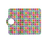 Modernist Floral Tiles Kindle Fire HD (2013) Flip 360 Case Front