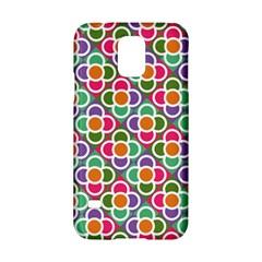 Modernist Floral Tiles Samsung Galaxy S5 Hardshell Case