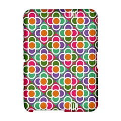 Modernist Floral Tiles Amazon Kindle Fire (2012) Hardshell Case