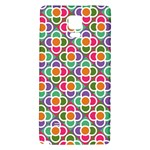Modernist Floral Tiles Galaxy Note 4 Back Case Front