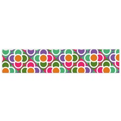 Modernist Floral Tiles Flano Scarf (small)