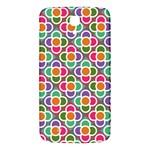 Modernist Floral Tiles Samsung Galaxy Mega I9200 Hardshell Back Case Front