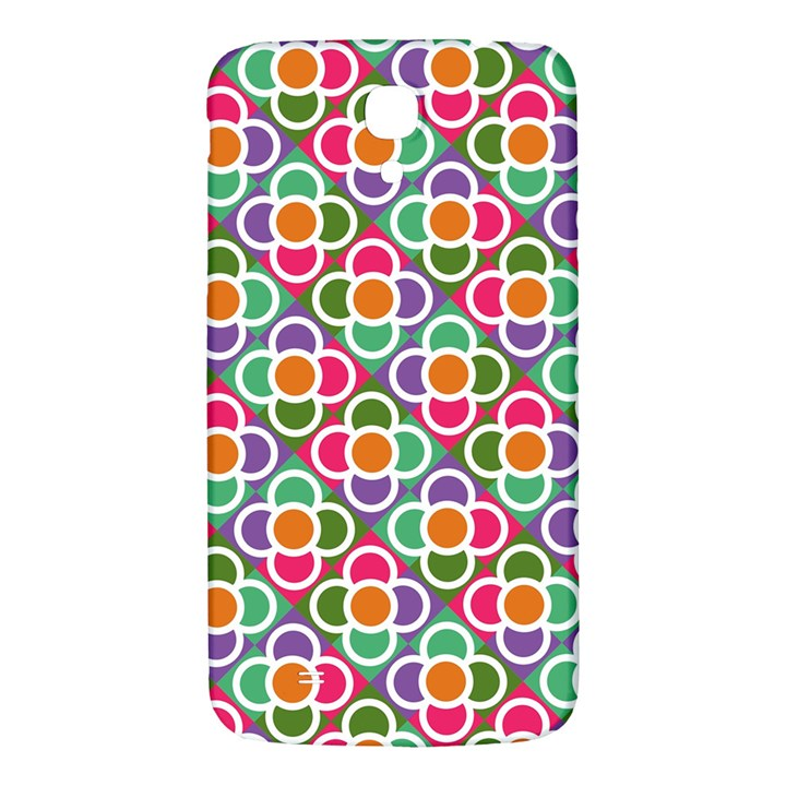 Modernist Floral Tiles Samsung Galaxy Mega I9200 Hardshell Back Case