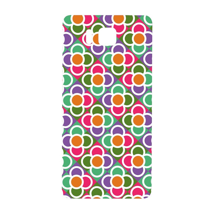 Modernist Floral Tiles Samsung Galaxy Alpha Hardshell Back Case