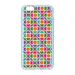 Modernist Floral Tiles Apple Seamless iPhone 6/6S Case (Color)