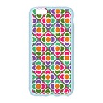 Modernist Floral Tiles Apple Seamless iPhone 6/6S Case (Color) Front