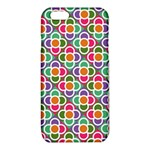 Modernist Floral Tiles iPhone 6/6S TPU Case Front
