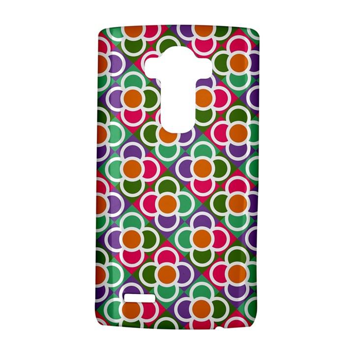 Modernist Floral Tiles LG G4 Hardshell Case