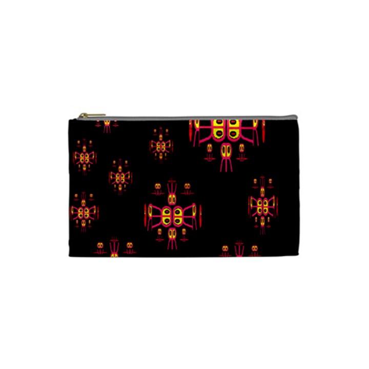 Alphabet Shirtjhjervbretili Cosmetic Bag (Small)