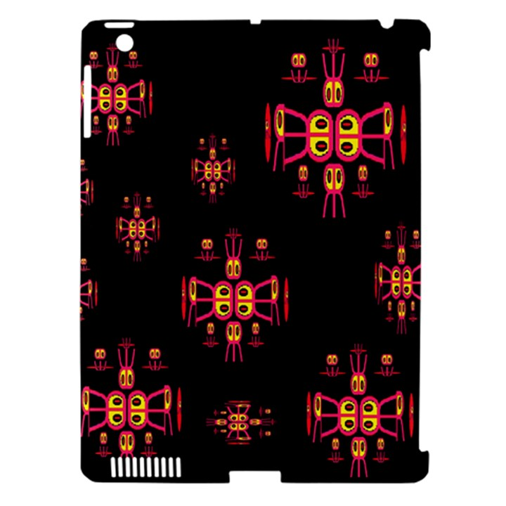 Alphabet Shirtjhjervbretili Apple iPad 3/4 Hardshell Case (Compatible with Smart Cover)