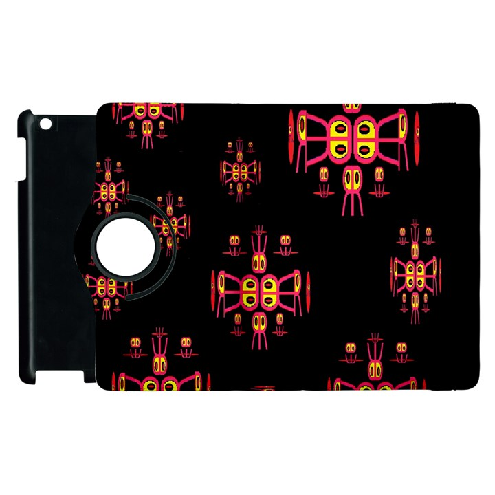 Alphabet Shirtjhjervbretili Apple iPad 3/4 Flip 360 Case