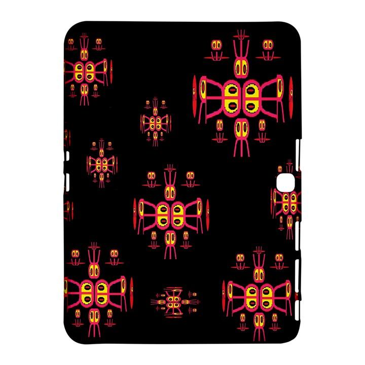 Alphabet Shirtjhjervbretili Samsung Galaxy Tab 4 (10.1 ) Hardshell Case