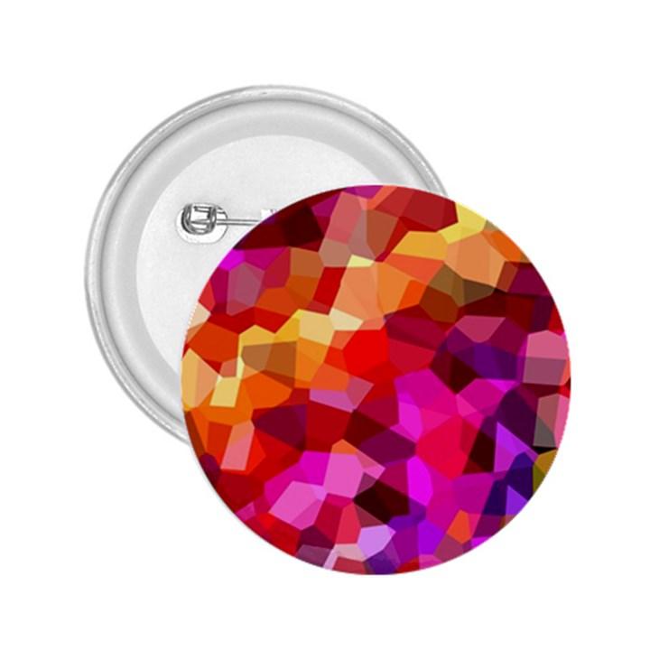Geometric Fall Pattern 2.25  Buttons