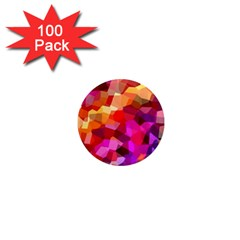 Geometric Fall Pattern 1  Mini Magnets (100 pack)