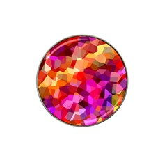 Geometric Fall Pattern Hat Clip Ball Marker
